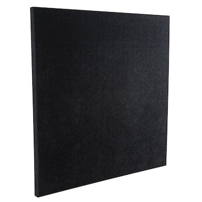 SonoLite Panels - 2 ft. W x 2 ft. L x 1 in. H - Black