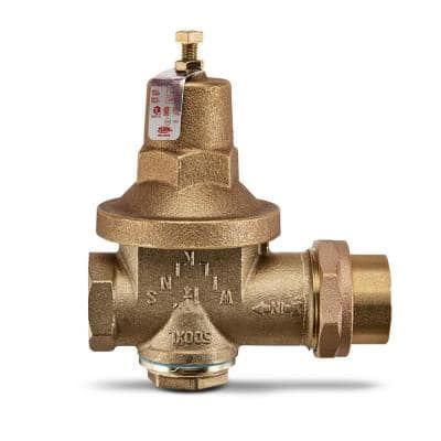 1-1/4 in. Brass Pressure Reducing Valve