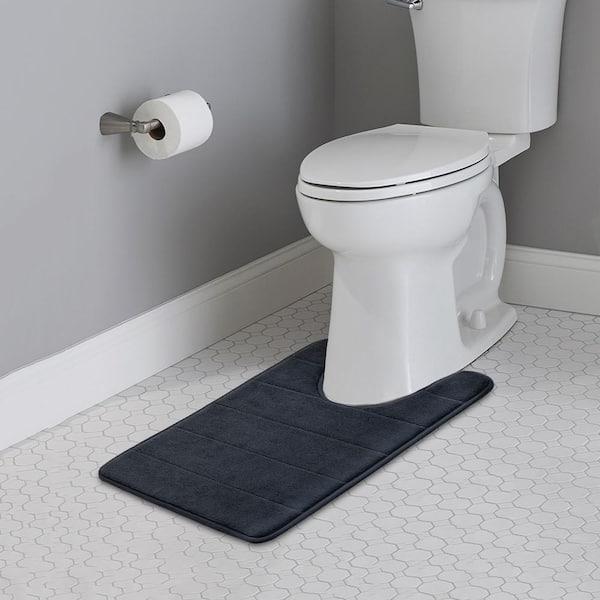 Non Slip Backing Washroom Rug B Mat, Bathroom Contour Rug