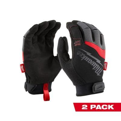 Large Performance Work Gloves (2-Pack)