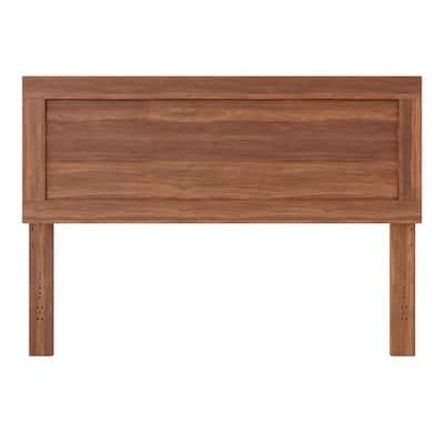 Leah Southern Oak Queen Classic Wood Headboard