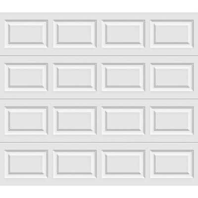 Classic Collection 8 ft. x 7 ft. 6.5 R-Value Insulated White Garage Door