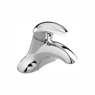 Reliant 3 4 in. Centerset Single-Handle Bathroom Faucet in Polished Chrome Less Drain and Pop-Up Hole