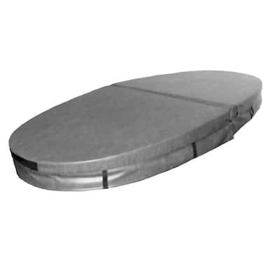 90.25 in. x 41.25 in. Hard Hot Tub Cover for Model 0 Capri