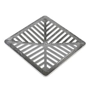10 in. x 10 in. Aluminum Grate
