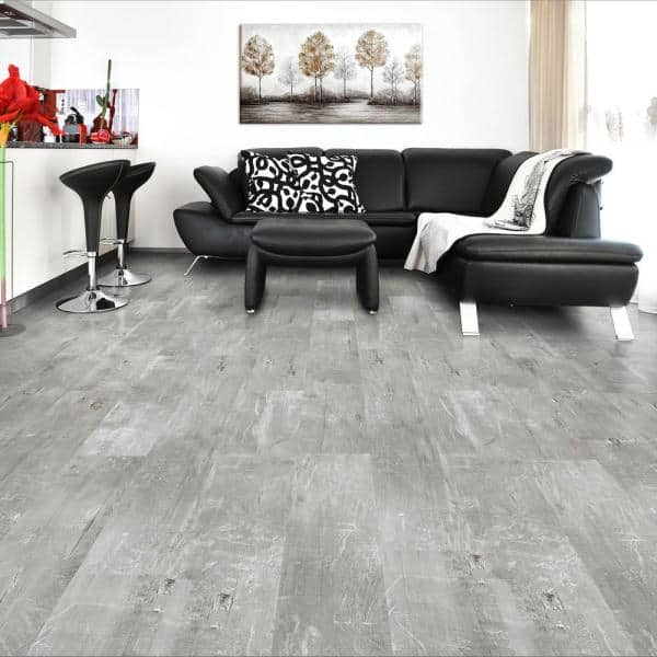 Luxury Vinyl Plank Flooring, Stone Look Laminate Flooring Home Depot