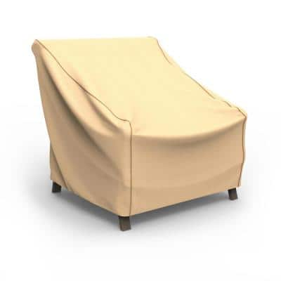 Rust-Oleum NeverWet X-Large Tan Outdoor Patio Chair Cover