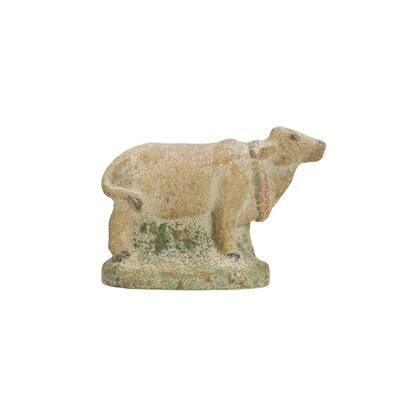 Cow Shaped Magnesia Figurine