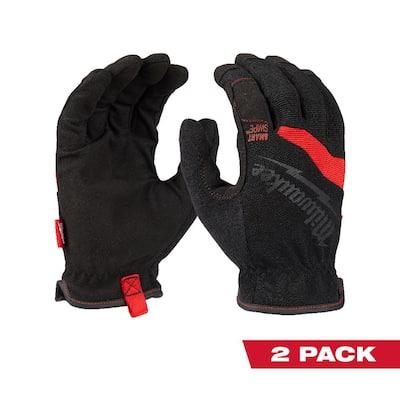 FreeFlex Large Work Gloves (2-Pack)