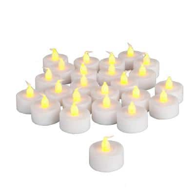 Battery Operated Tea-Light Candle (48-Piece)