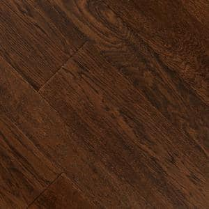 HS Distressed Montecito Oak 3/8 in. T x 3-1/2 in. and 6-1/2 in. W x Varying Length Click Lock Hardwood (26.25 sq.ft./cs)