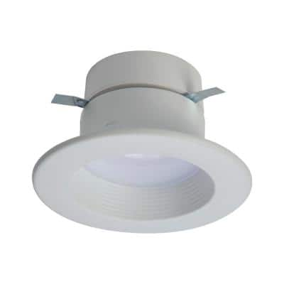 RL 4 in. 2700K-5000K Tunable Smart White Integrated LED Recessed Ceiling Light Trim Selectable Lumens