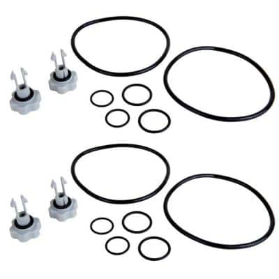 2,500 Gal. Filter Pool Pump Replacement Seals Pack Parts (2-Pack)