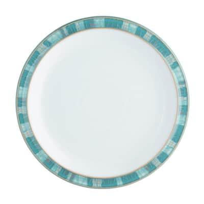 Azure Turquoise Coast Dinner Plate