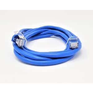 5 Feet - Green Computer Network Cable with Bootless Connector Cat6 Ethernet Cable UTP Available in 28 Lengths and 10 Colors CABLECHOICE 10-Pack RJ45 10Gbps High Speed LAN Internet Patch Cord