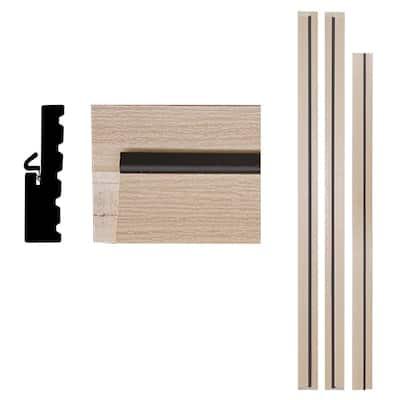 1-1/4 in. x 4-9/16 in. x 83 in. Primed Woodgrain Composite Patio Door Frame Kit