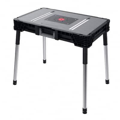 1.8 ft. x 3 ft. Portable Jobsite Workbench