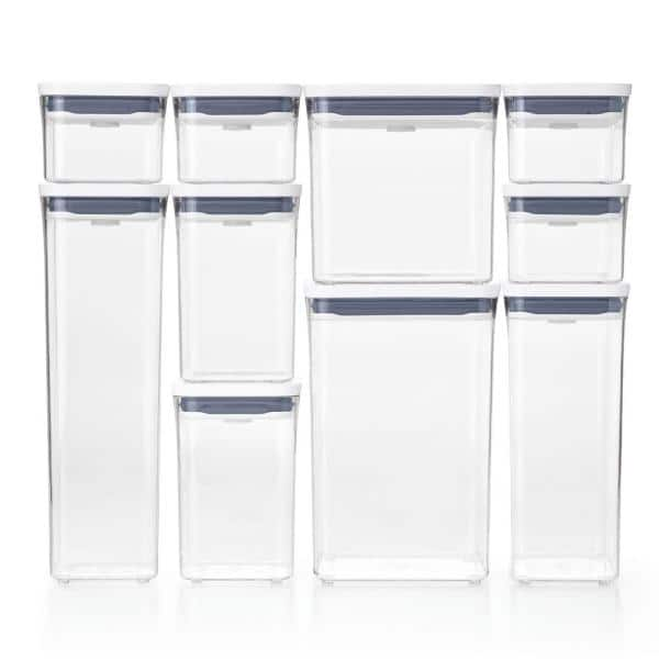 OXO - Good Grips 10-Piece POP Assorted Container Set with Airtight Lids
