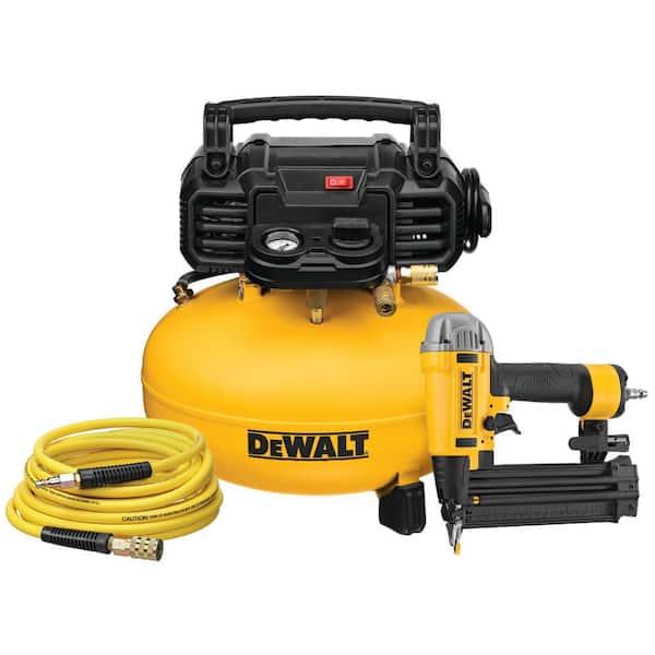 DeWalt Six Gallon Pancake Air Compressor Combo Kit