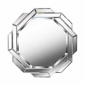 Medium Irregular  Beveled Glass Mirror (24 in. H x 24 in. W)