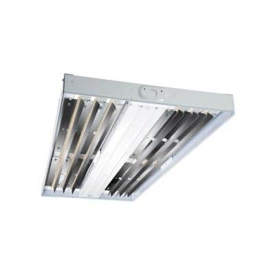 75-Watt White Enamel Integrated LED High Bay 4000K CCT with 0-Volt to 10-Volt Dimming Driver