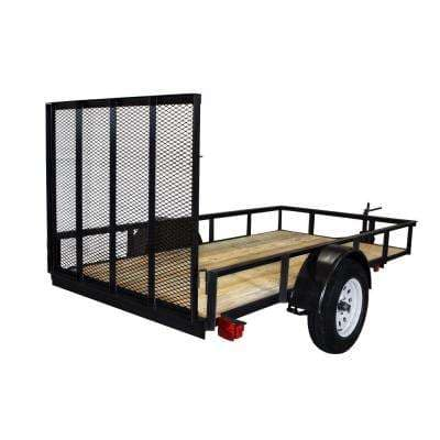 Triple Crown 2110 lb. Capacity 5 ft. x 10 ft. Utility Trailer