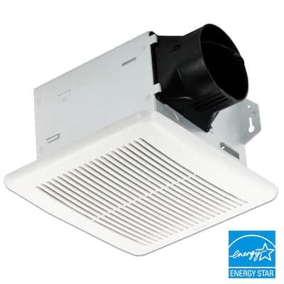 Integrity Series 100 CFM Wall or Ceiling Bathroom Exhaust Fan, ENERGY STAR