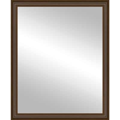 24x30 Wright Walnut Framed Mirror
