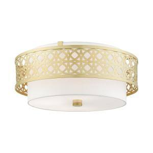 Calinda 4 Light Soft Gold Semi Flush Mount