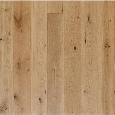 Euro White Oak Pebble 5/8 in. Thick x 5-1/8 in. Wide x Varying Length Engineered Hardwood Flooring (24.44 sq. ft./case)