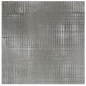 Lungo Dark Gray 24 in. x 24 in. Matte Porcelain Floor and Wall Tile (3 pieces / 11.62 sq. ft. / box)