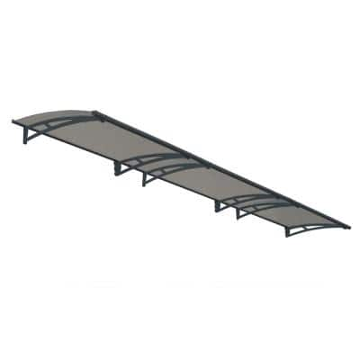 Aquila 4500 14 ft. 9 in. Solar Gray Door Canopy Awning