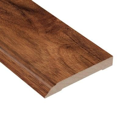Tobacco Canyon Acacia 1/2 in. Thick x 3-1/2 in. Wide x 94 in. Length Wall Base Molding