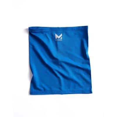 Half-Face 6 in. x 8 in. Blue Polyester/Spandex Neck Gaiter
