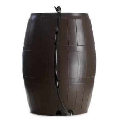 Rain Catcher 50 Gal. Brown RC 4000 Rain Barrel