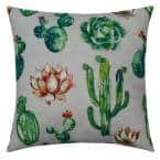 Majave Shadow Outdoor Throw Pillow