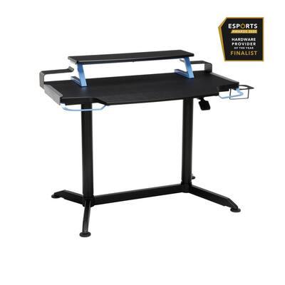 """3000 Gaming Computer Desk, 42"""" Ergonomic Height Adjustable Gaming Desk, in Blue (RSP-3000-BLU)"""