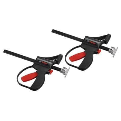 11.7 in. Track Saw Track Quick Clamps (2-Piece)