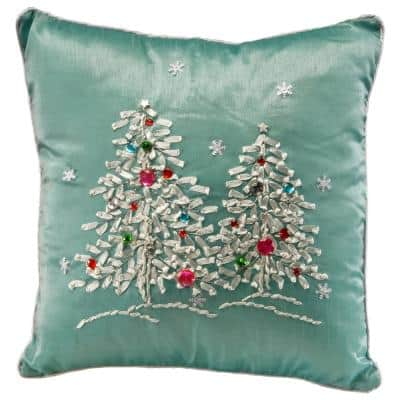 16 in. Christmas Trees Pillow