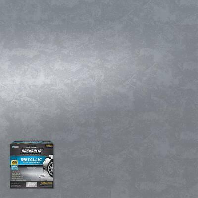 80 oz. Metallic Silver Bullet Garage Floor Kit (2-Pack)