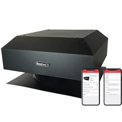 2116 CFM Smart App Controlled 3-Speed Roof Mount Attic Fan