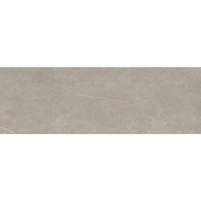 Anthem Gray 2.99 in. x 12.28 in. Matte Ceramic Single Bullnose Tile