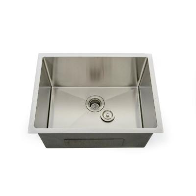 Lavendaria 24 in. x 18 in. x 12 in. Stainless Steel Laundry Sink