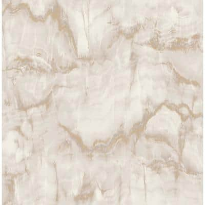 Aura Gold Marble Gold Wallpaper Sample