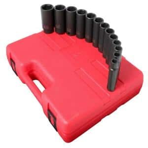 1/2 in. Drive Socket Set (13-Pieces)