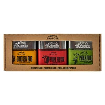 Seasoning - Prime Rib, Chicken Pork and Poultry Rubs (3-Pack)
