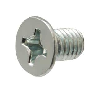 M5-0.8 x 30 mm Phillips Flat Head Stainless Steel Machine Screw