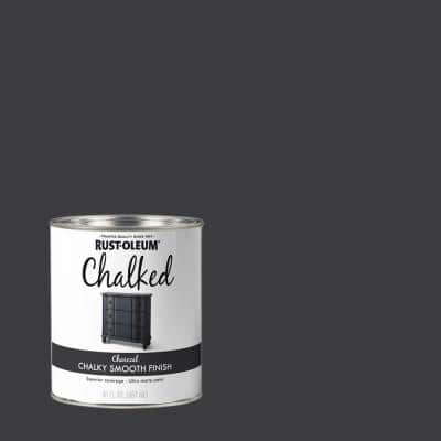 30 oz. Charcoal Ultra Matte Interior Chalked Paint