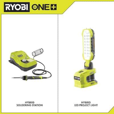 ONE+ 18V Hybrid Soldering Station and Hybrid LED Project Light (Tools Only)