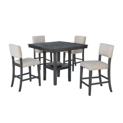 Square Dining Room Sets Kitchen Furniture The Home Depot
